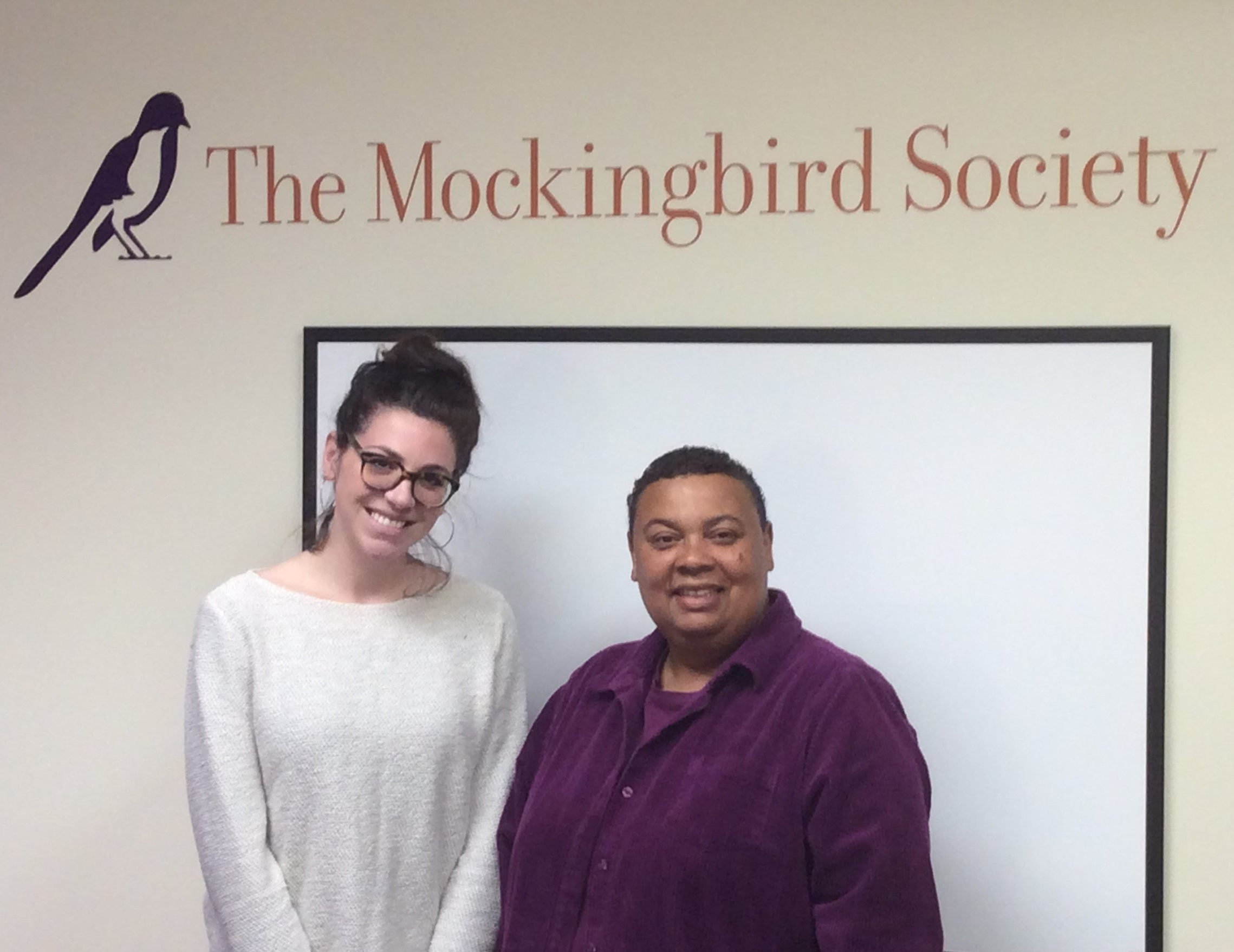 Degale and Zoe of the Mockingbird Society in Seattle. What starts with a program aimed at supporting and retaining foster parents can lead to better relationships between foster carers and parents which in turn leads to better outcomes for chidlren.