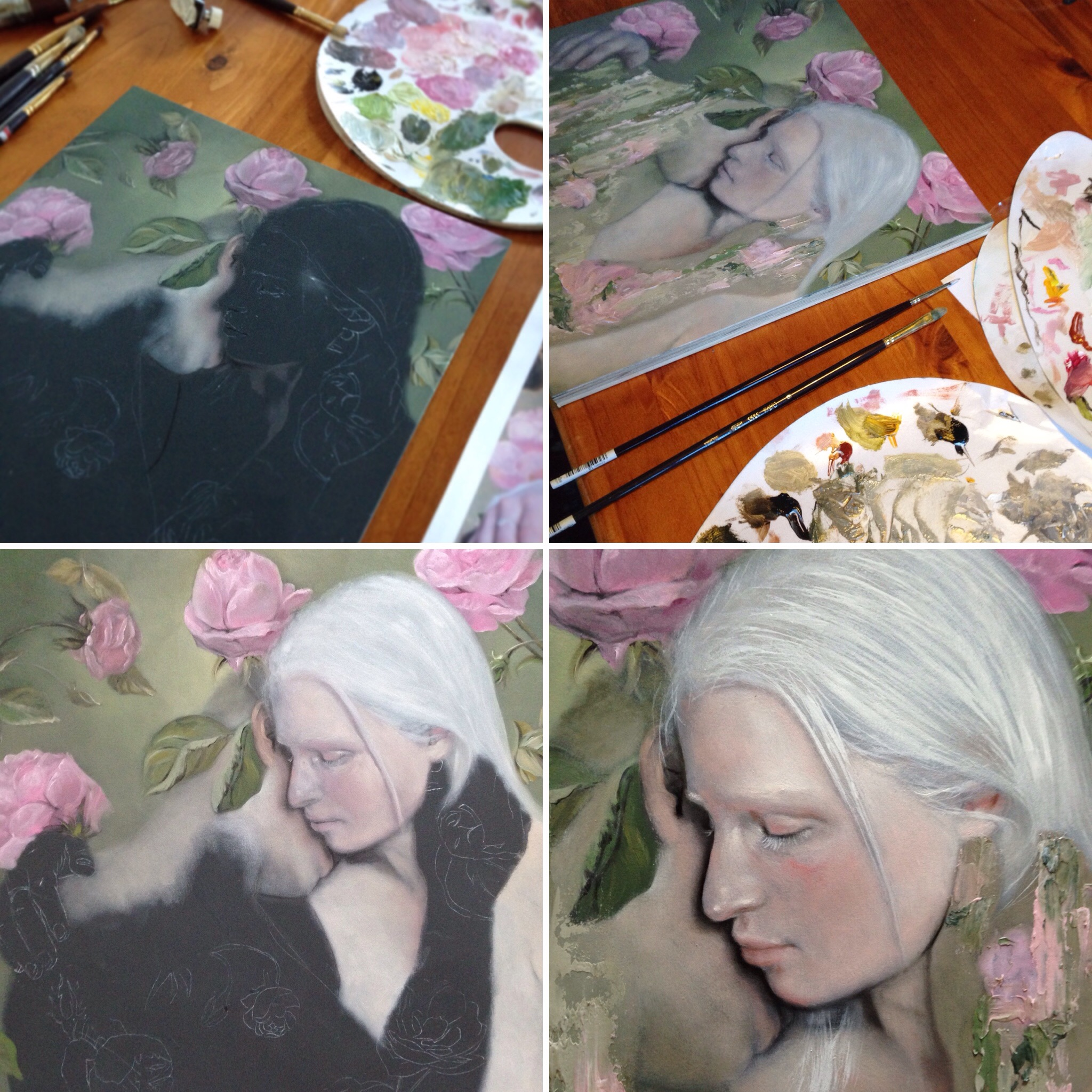 Work in progress shots of my piece. For sales enquiries please contact  Thinkspace