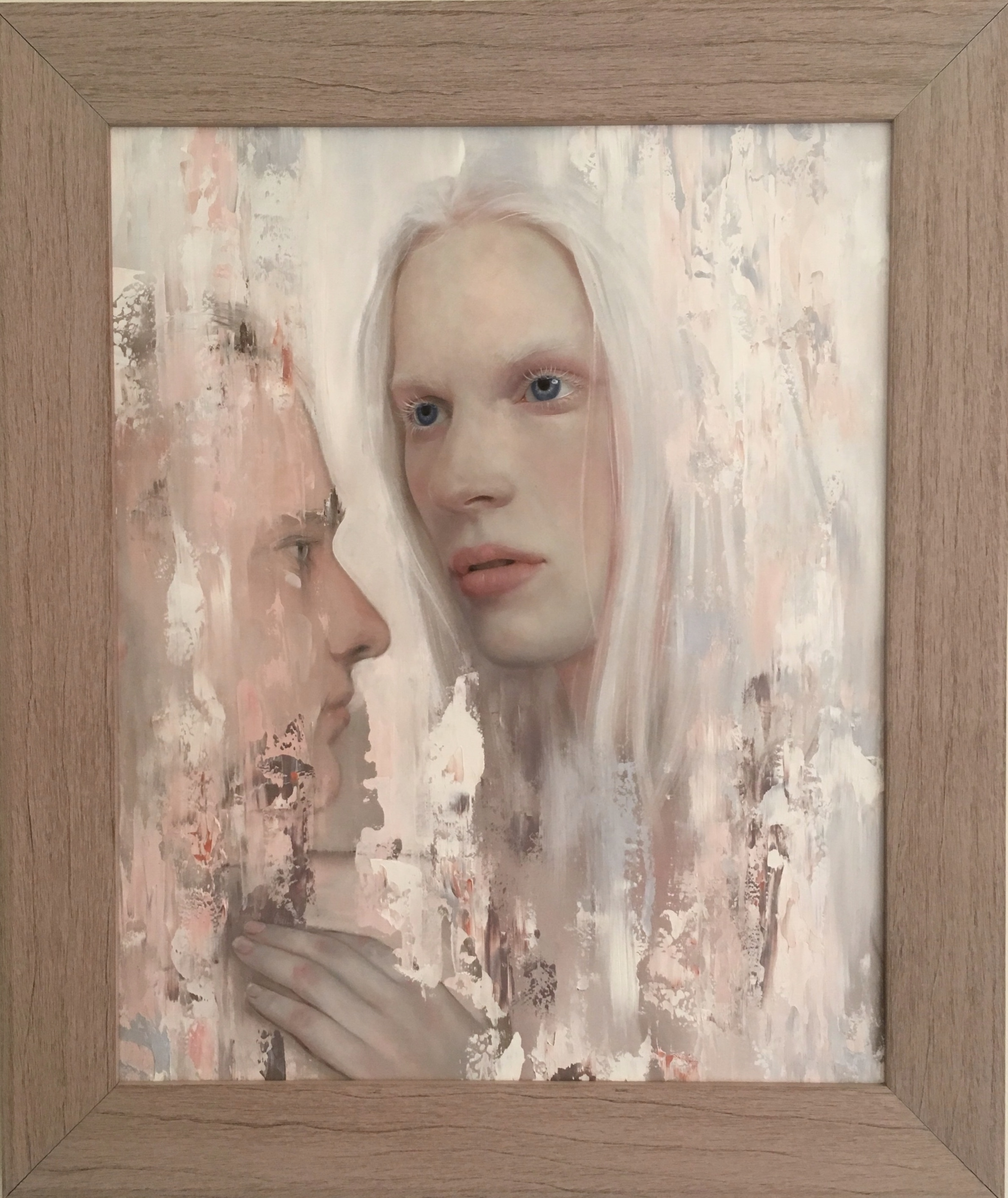 Loveloss Series - Salvation 2018  oil on board  500 x 400mm (590 x 490mm framed size)  NZ$2800  enquiries to:  michelle@theartistsroom.co.nz