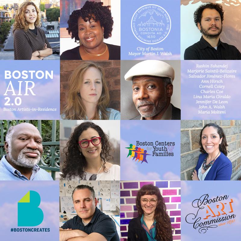 Boston Artist-In-Residence