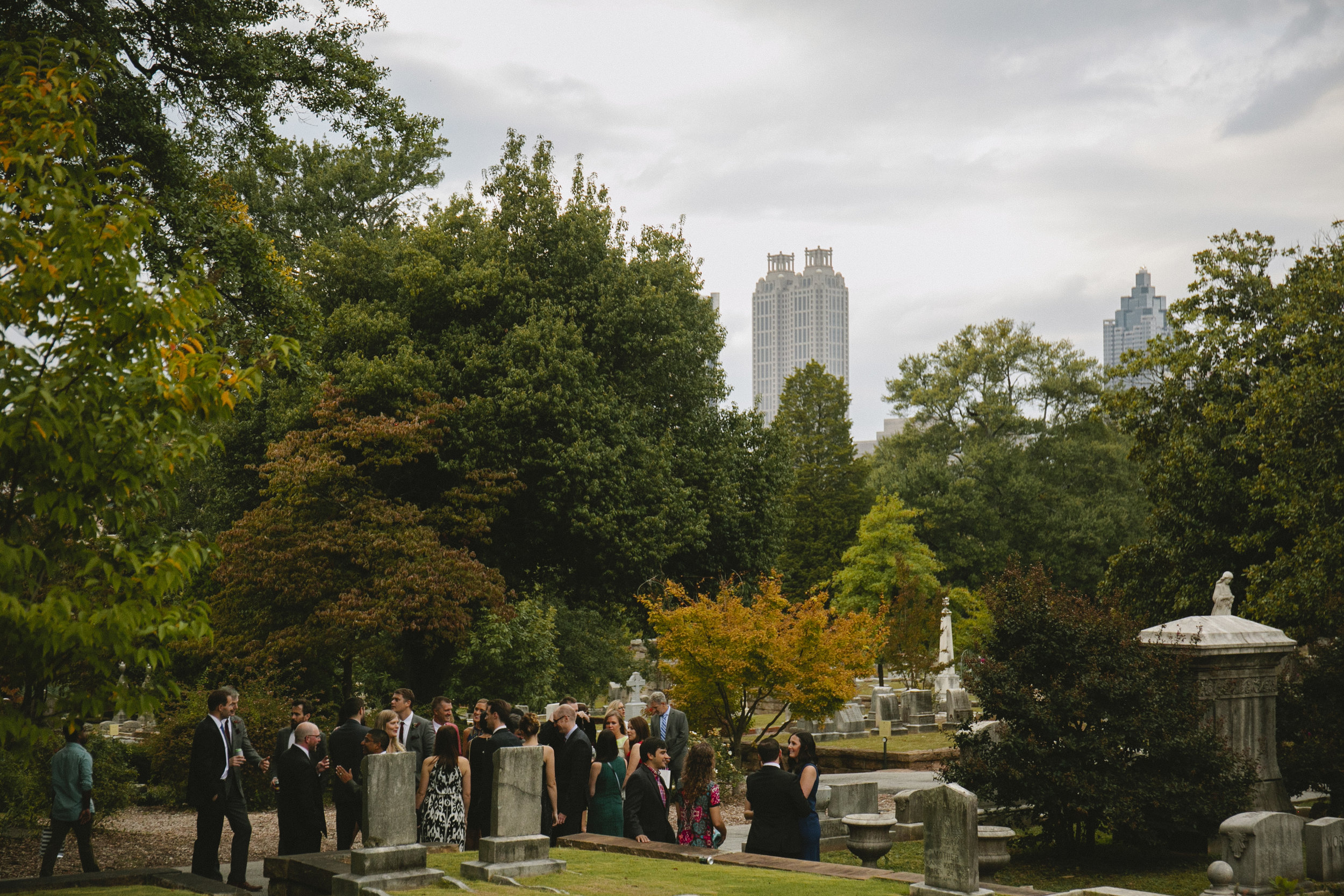 Destination Wedding Photographer Fall Graveyard Inspiration