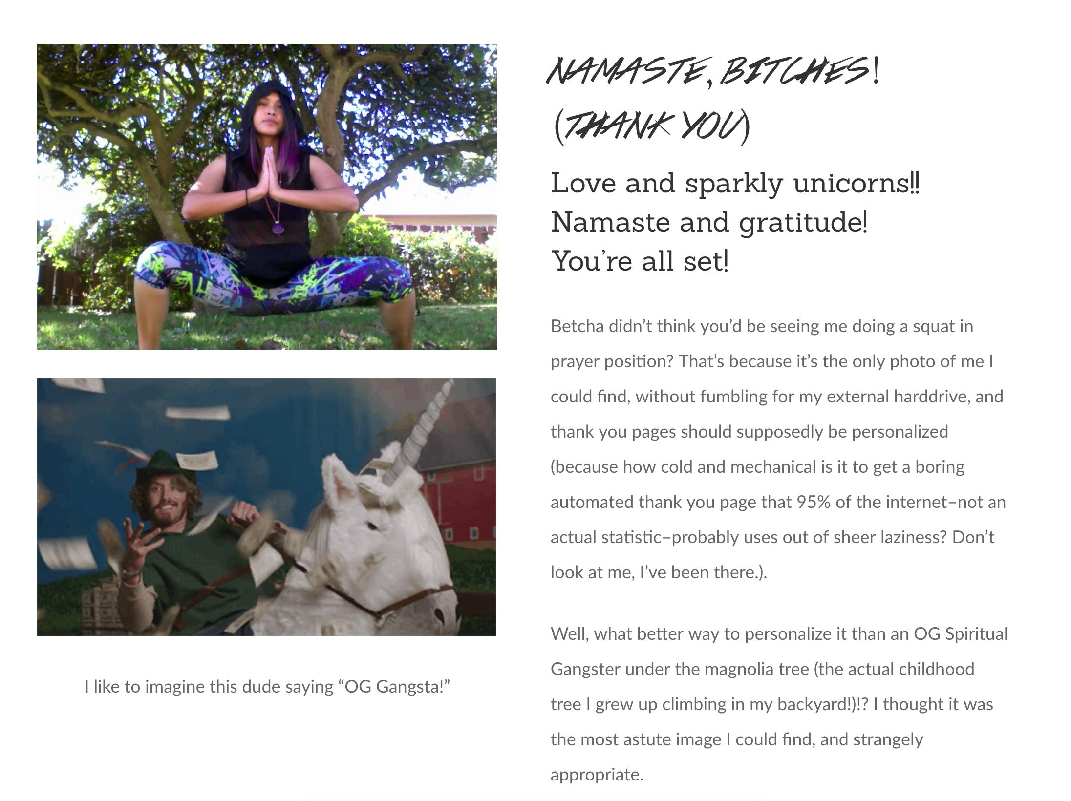 Example from digital storyteller Janet Brent