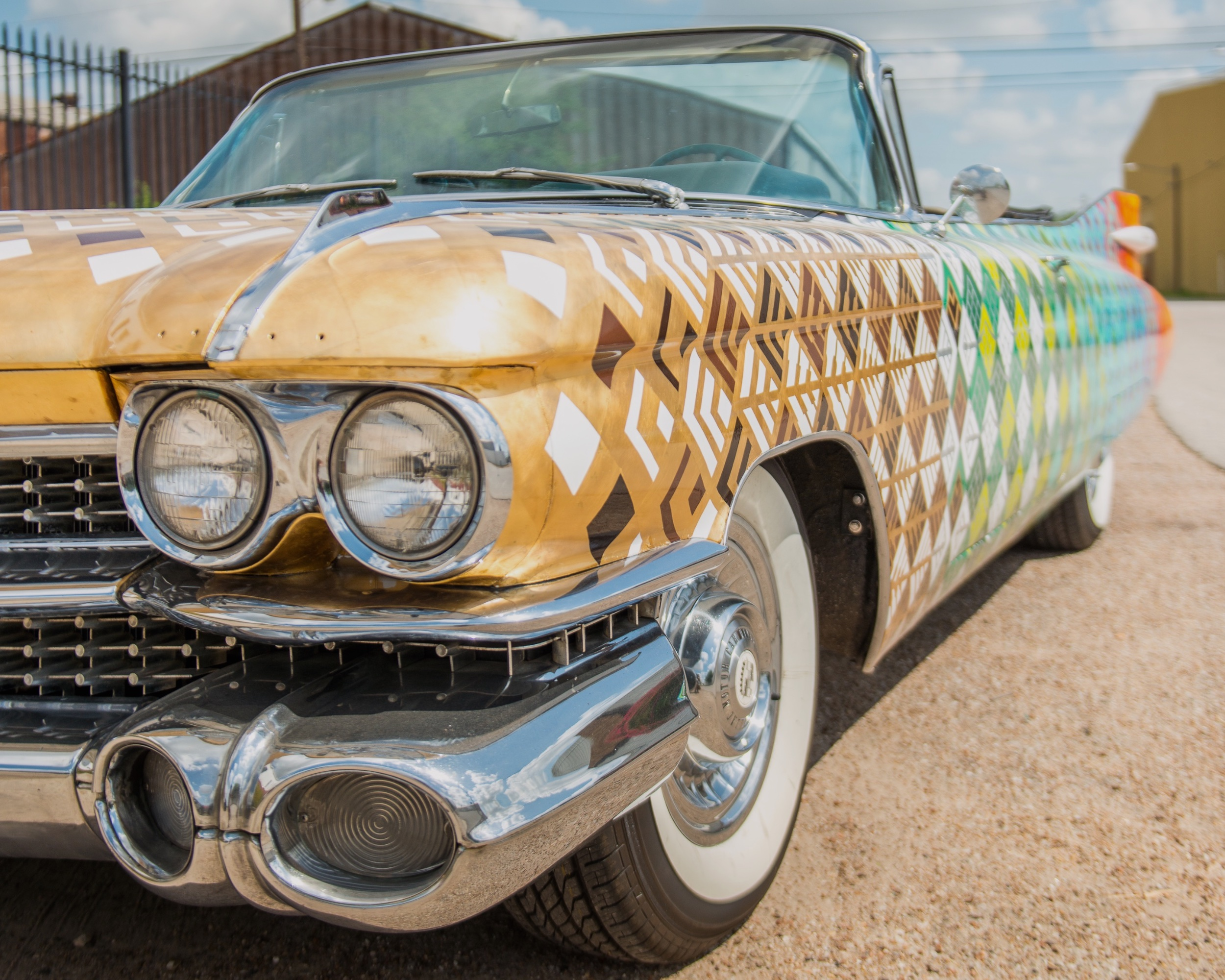 Saint Arnold Brewing Company - Art Car Fleet - Houstonm, TX 072015