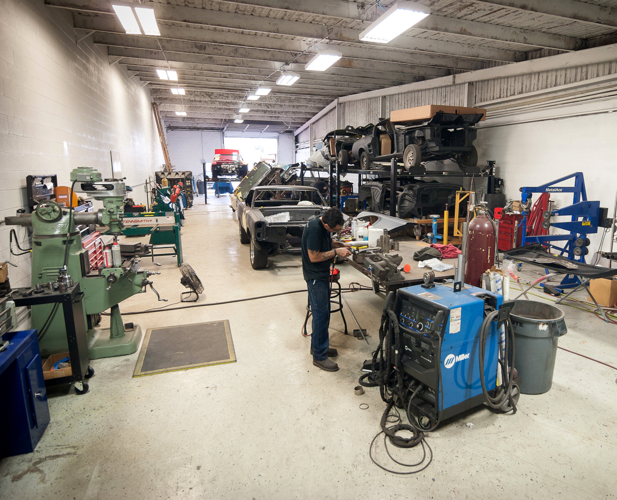 With our fabrication facility and staff we can build anything you need.
