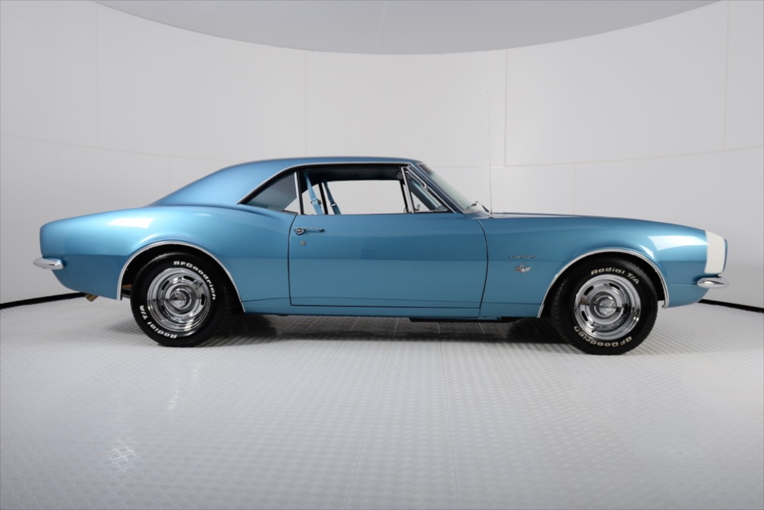 1967 Camaro restored by Classic Cars of Houston