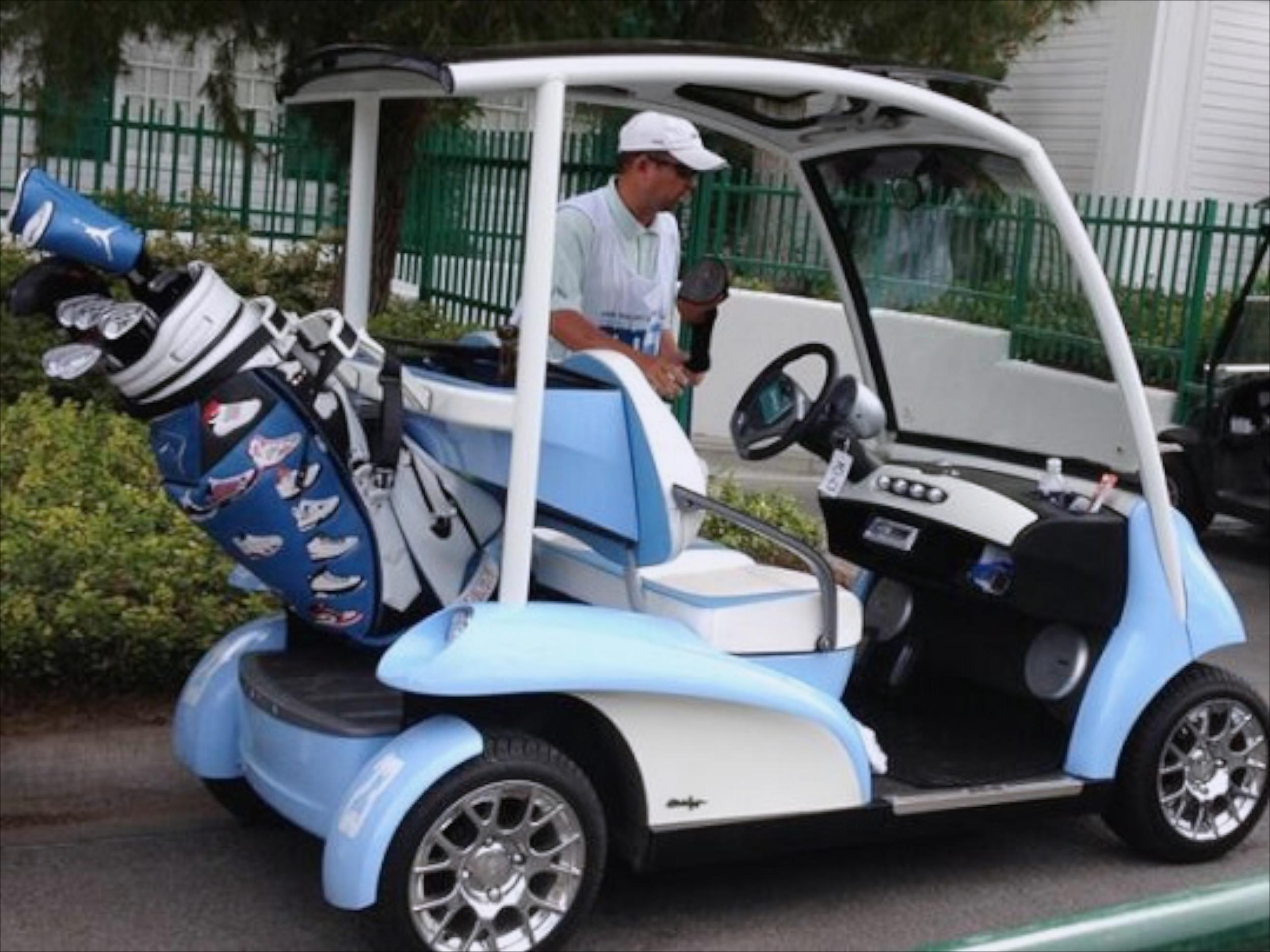 Michael Jordan's Golf Cart