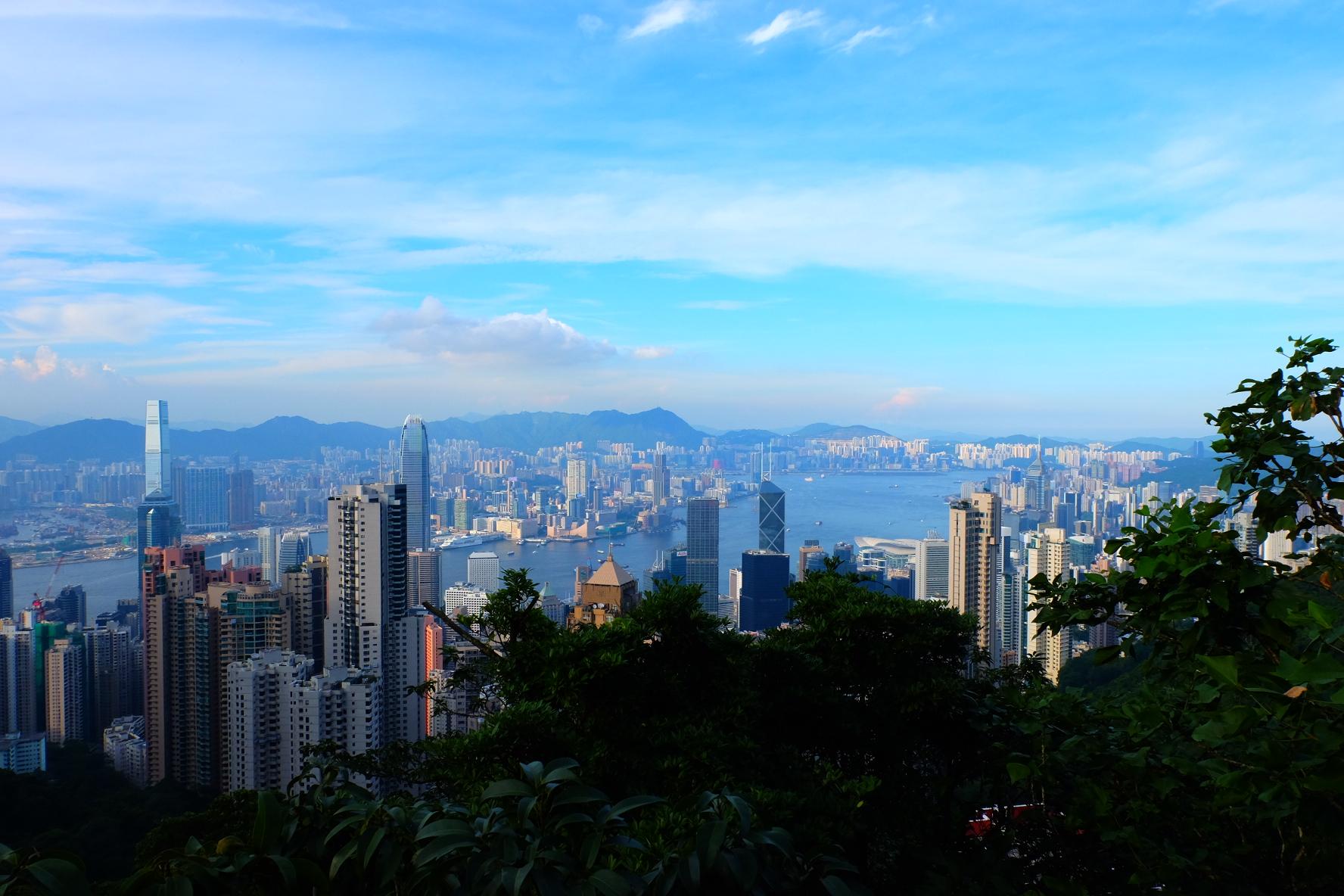 Hong Kong views from Victoria's Peak