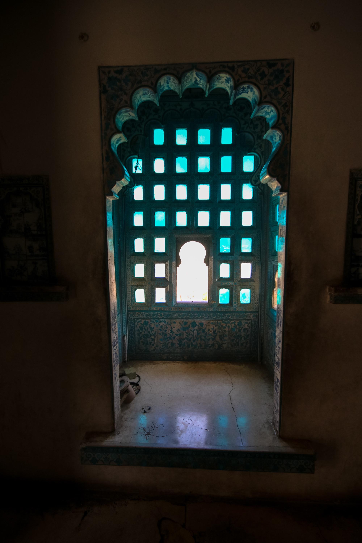 Udaipur City Palace windows