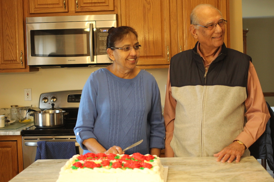 Mom and Dad celebrate their 40th Anniversary!