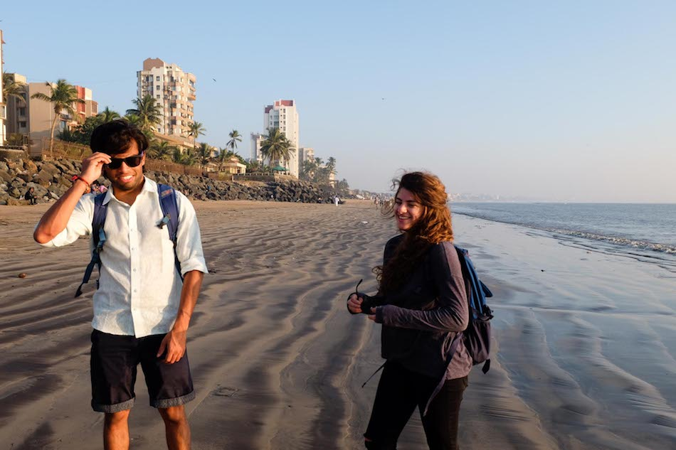 Versova Beach, Mumbai.