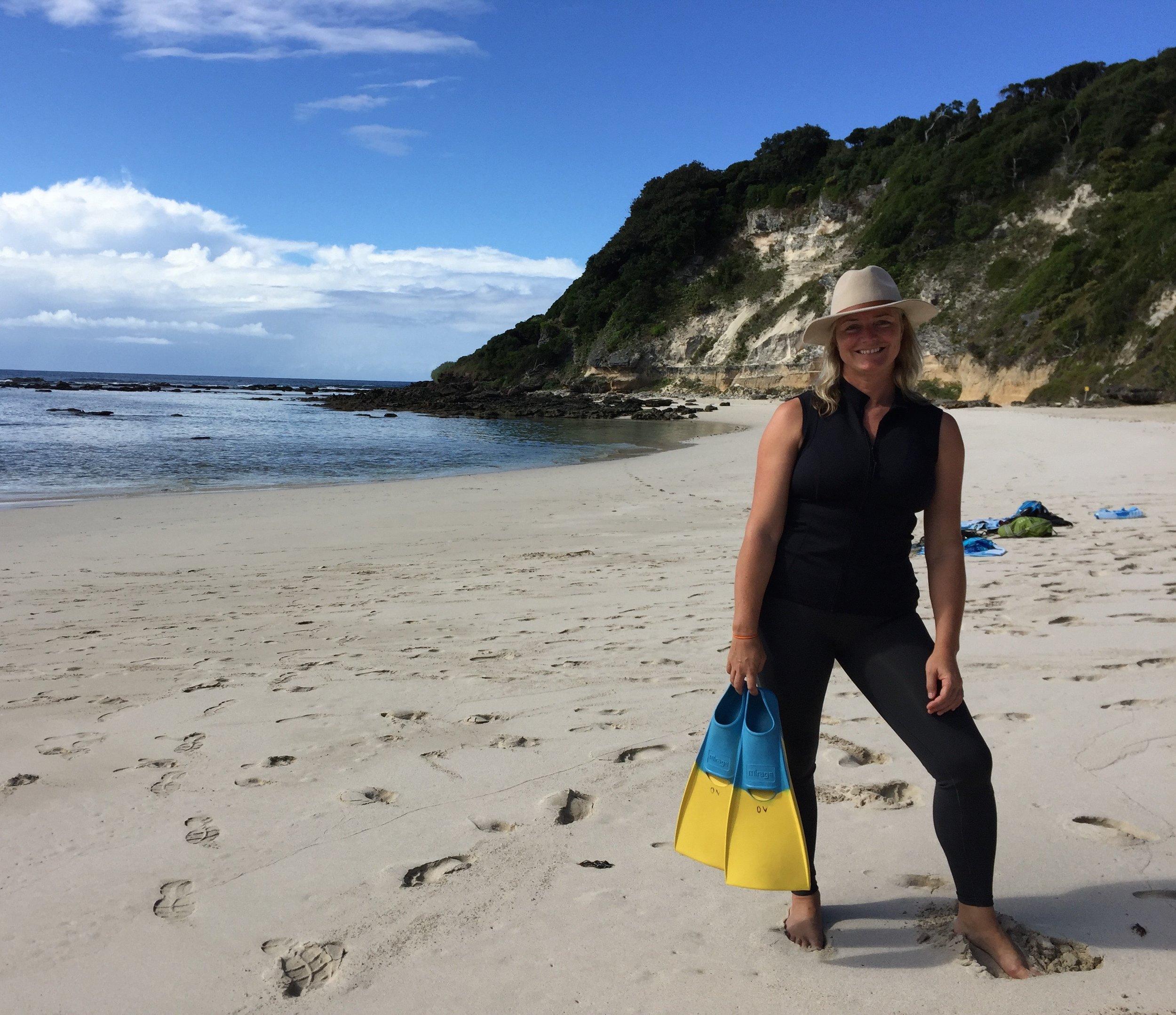 Director Karina Holden has spent her life in saltwater.