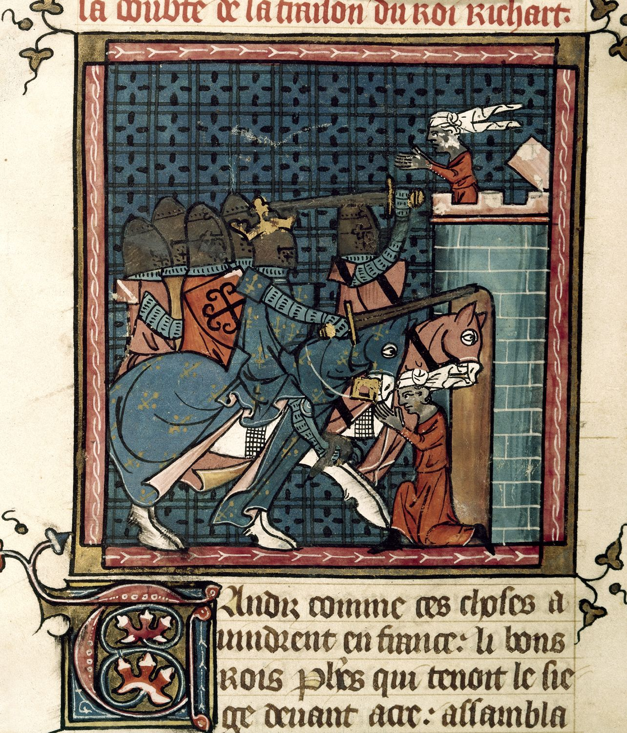Capture of Acre by Richard I