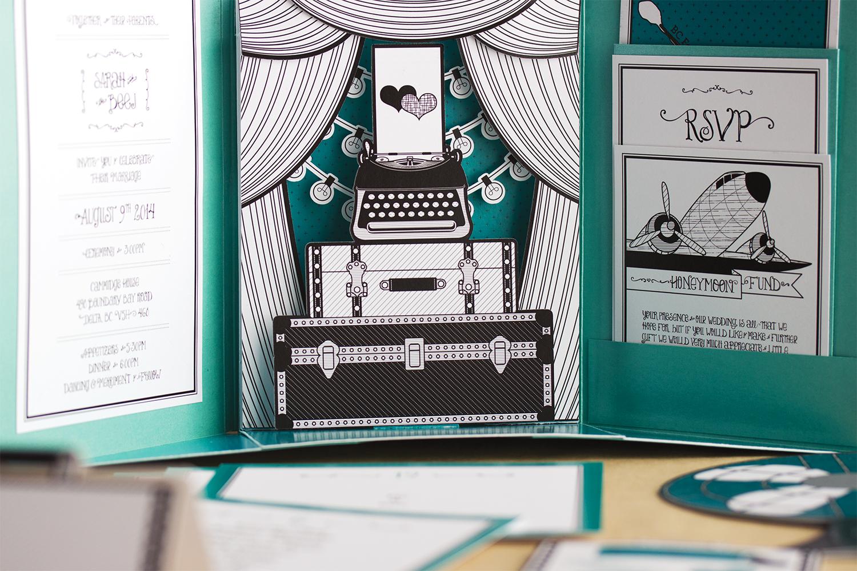 Wedding Invitation – Sarah & BJ