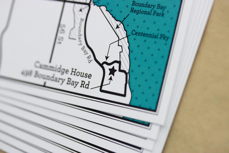 Map Card – Sarah & BJ
