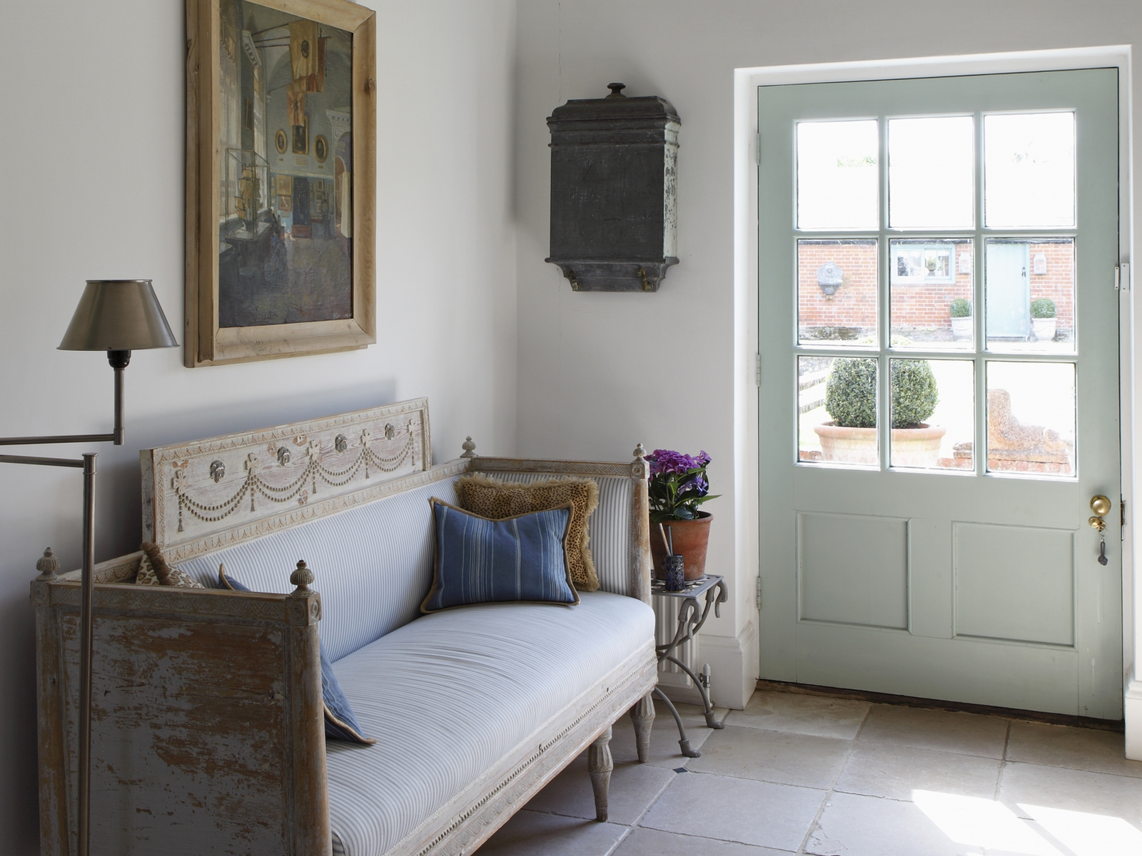 Country boot room Interior design by Ham Interiors