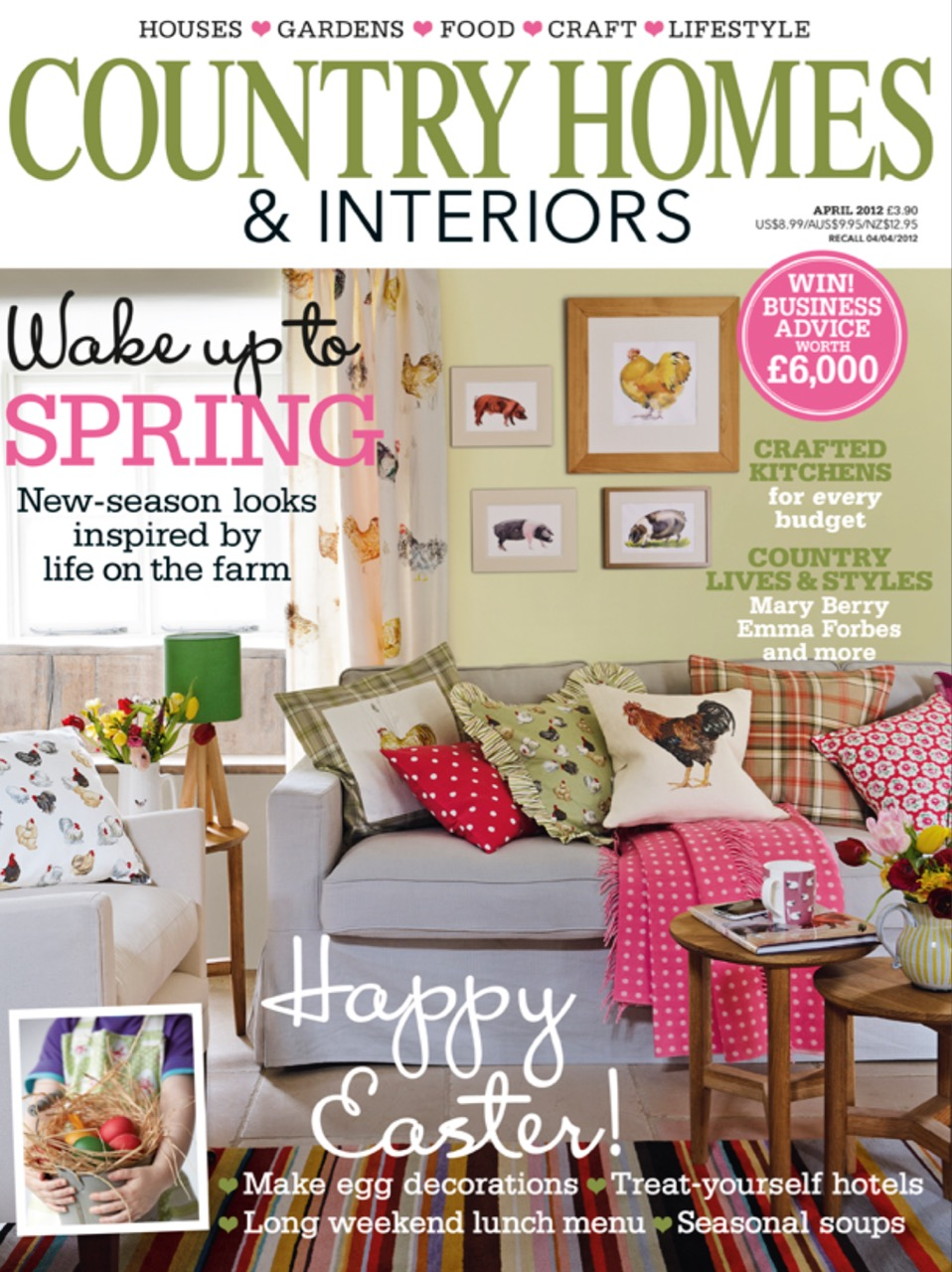Country Homes Magazine with Ham Interiors