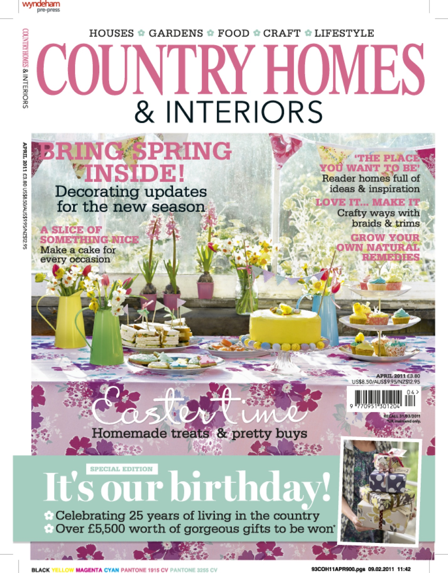 Country Homes April 2011 with Ham Interiors