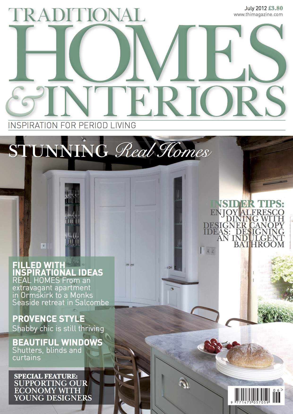 Traditional Homes & Interiors Magazine