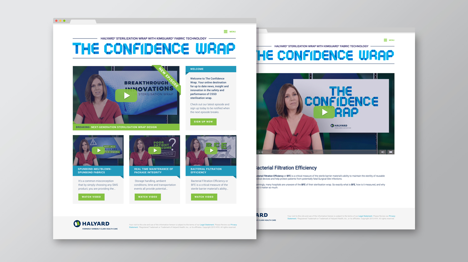 The Confidence Wrap website