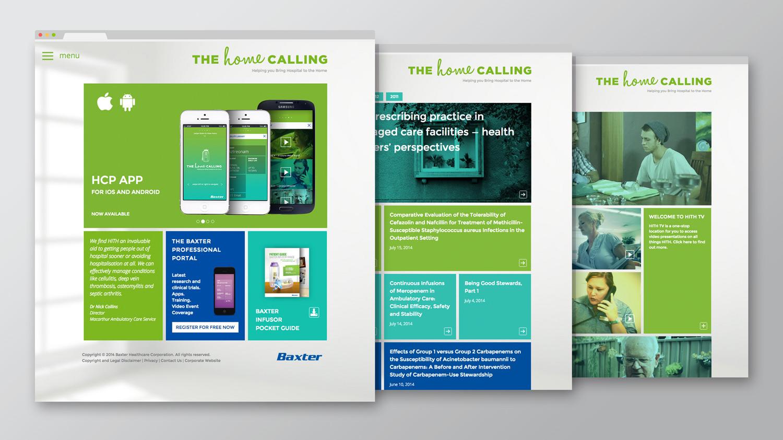 The Home Calling Website Re-Design