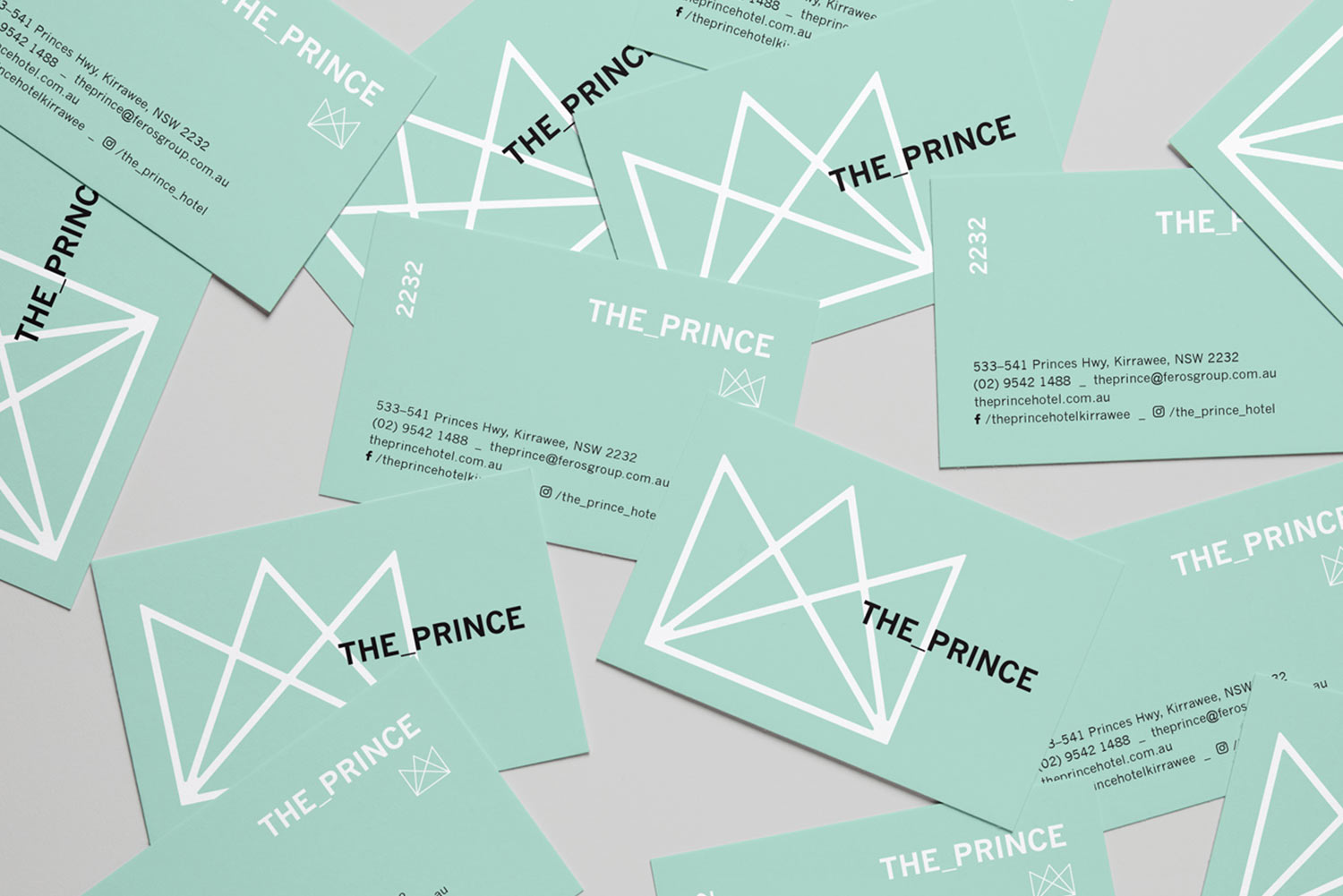 The Prince Business Card