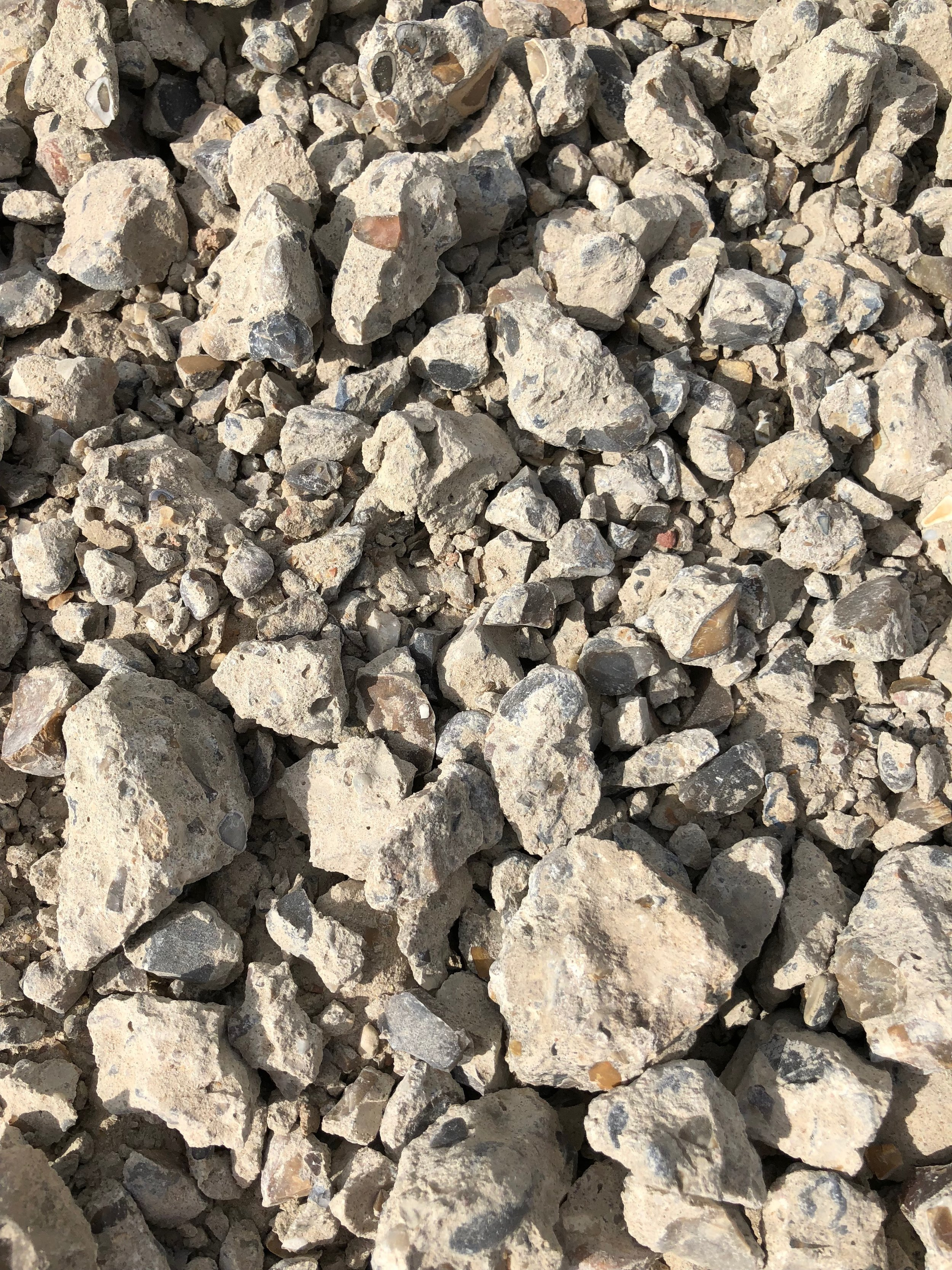 CRUSHED CONCRETE -  .