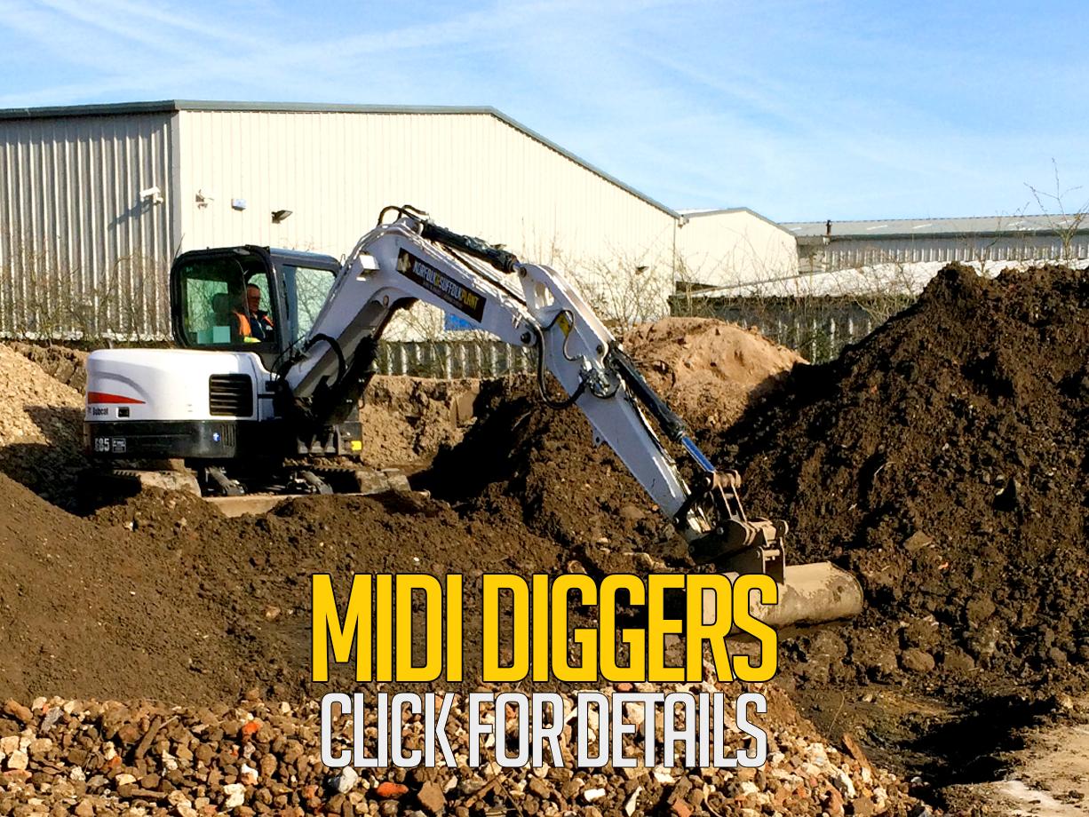 Midi Diggers | Norfolk & Suffolk Plant ..