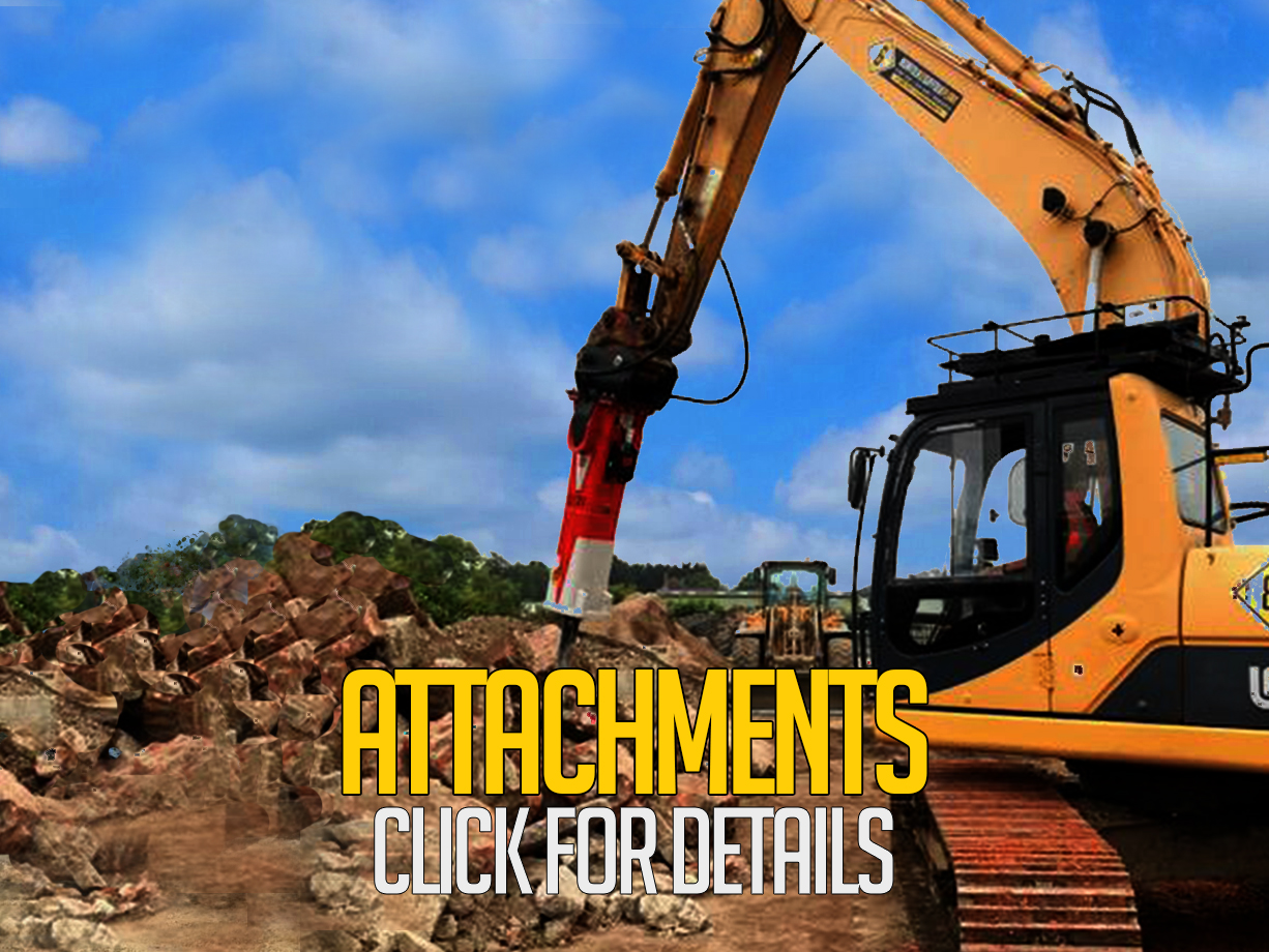 Digger Attachements | Norfolk & Suffolk Plant ..