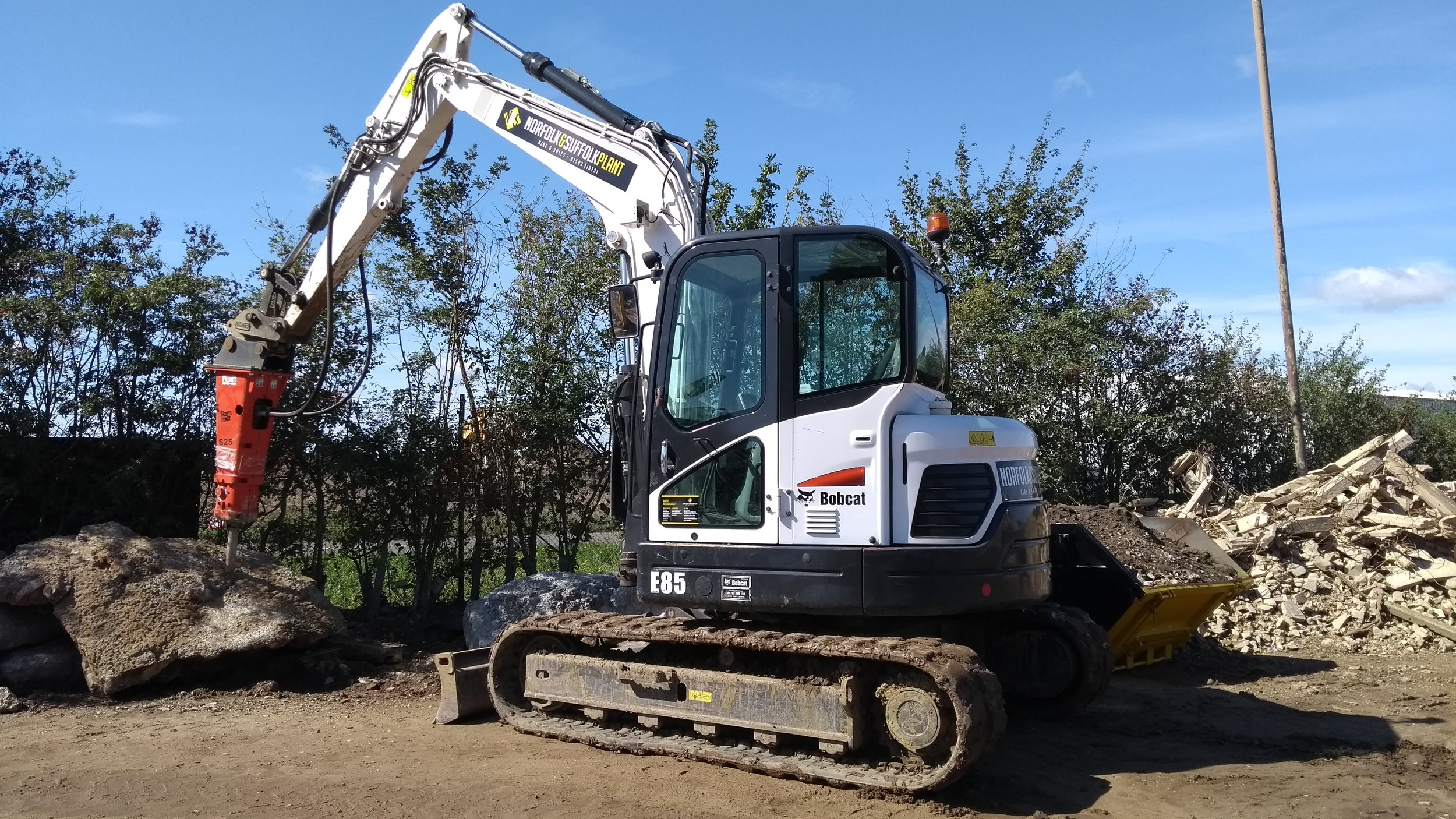 Excavator Hire | Norfolk & Suffolk Plant
