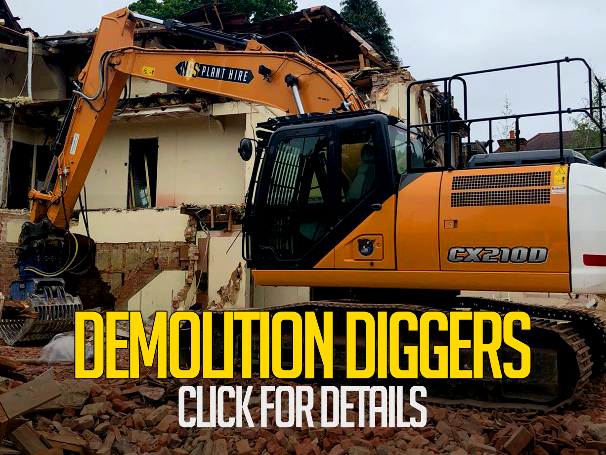 Demolition Diggers | Norfolk & Suffolk Plant ..