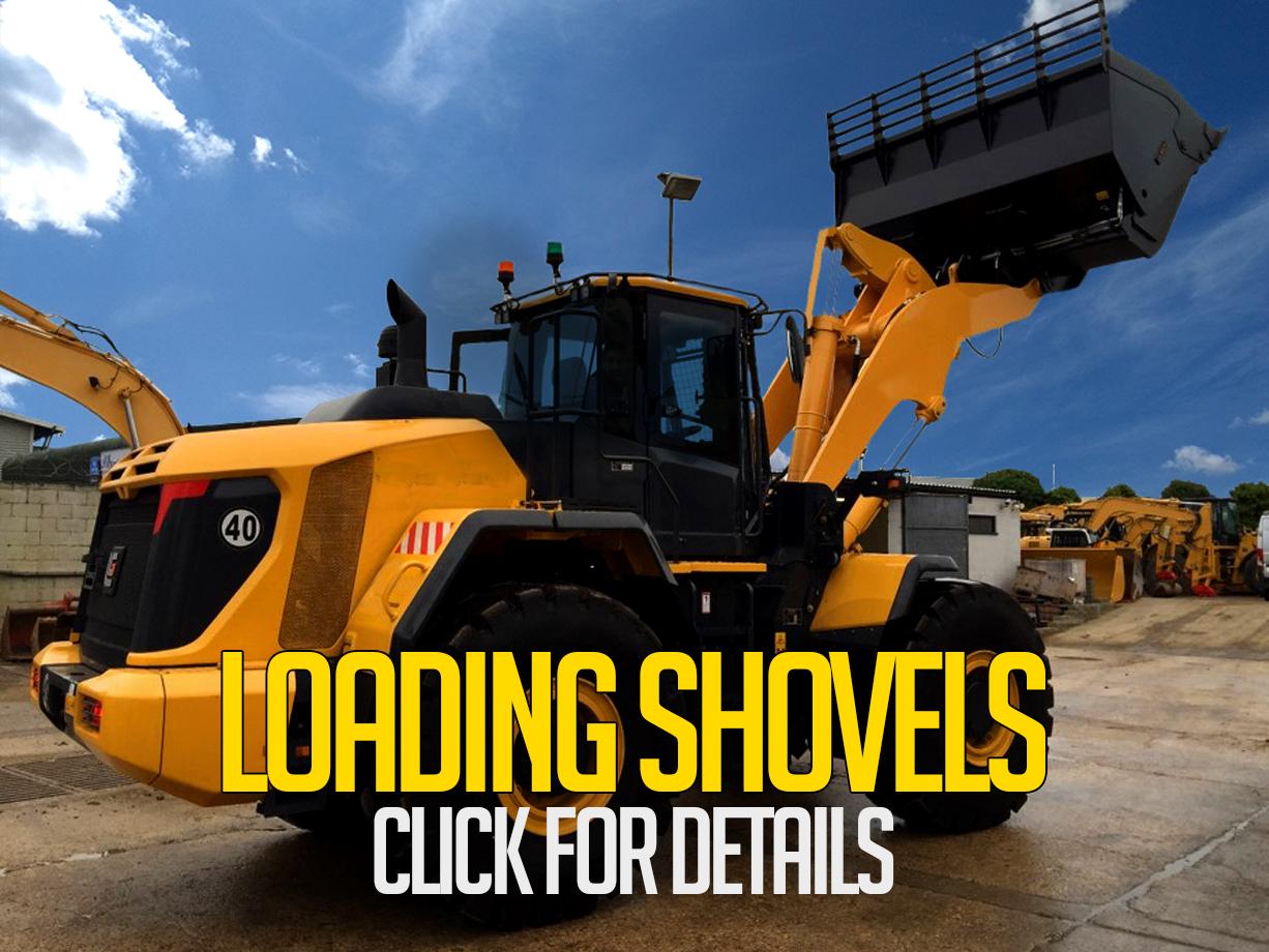 loading shovels for hire