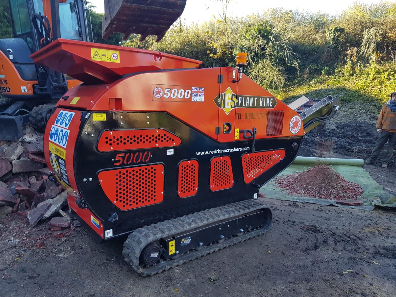crusher hire norfolk