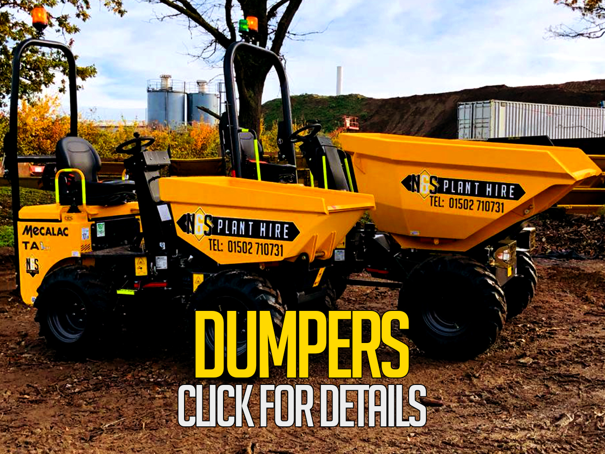 dumpers for hire