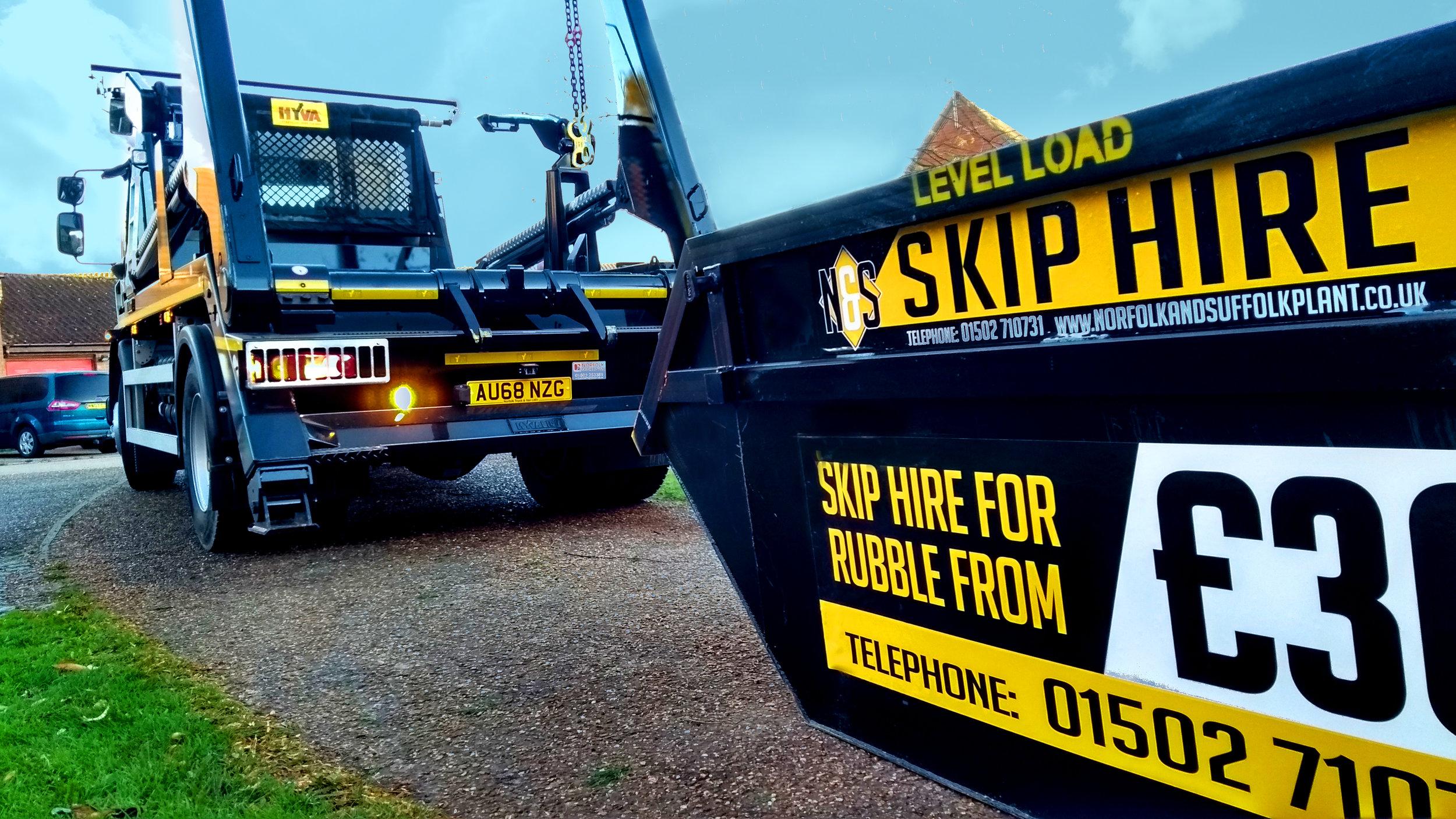 skip hire suffolk