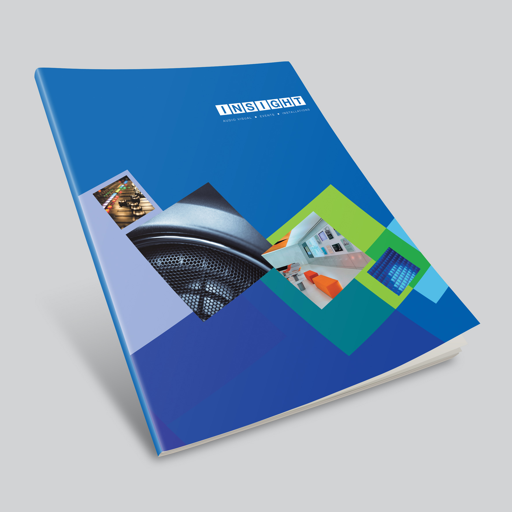 Insight branding and brochure