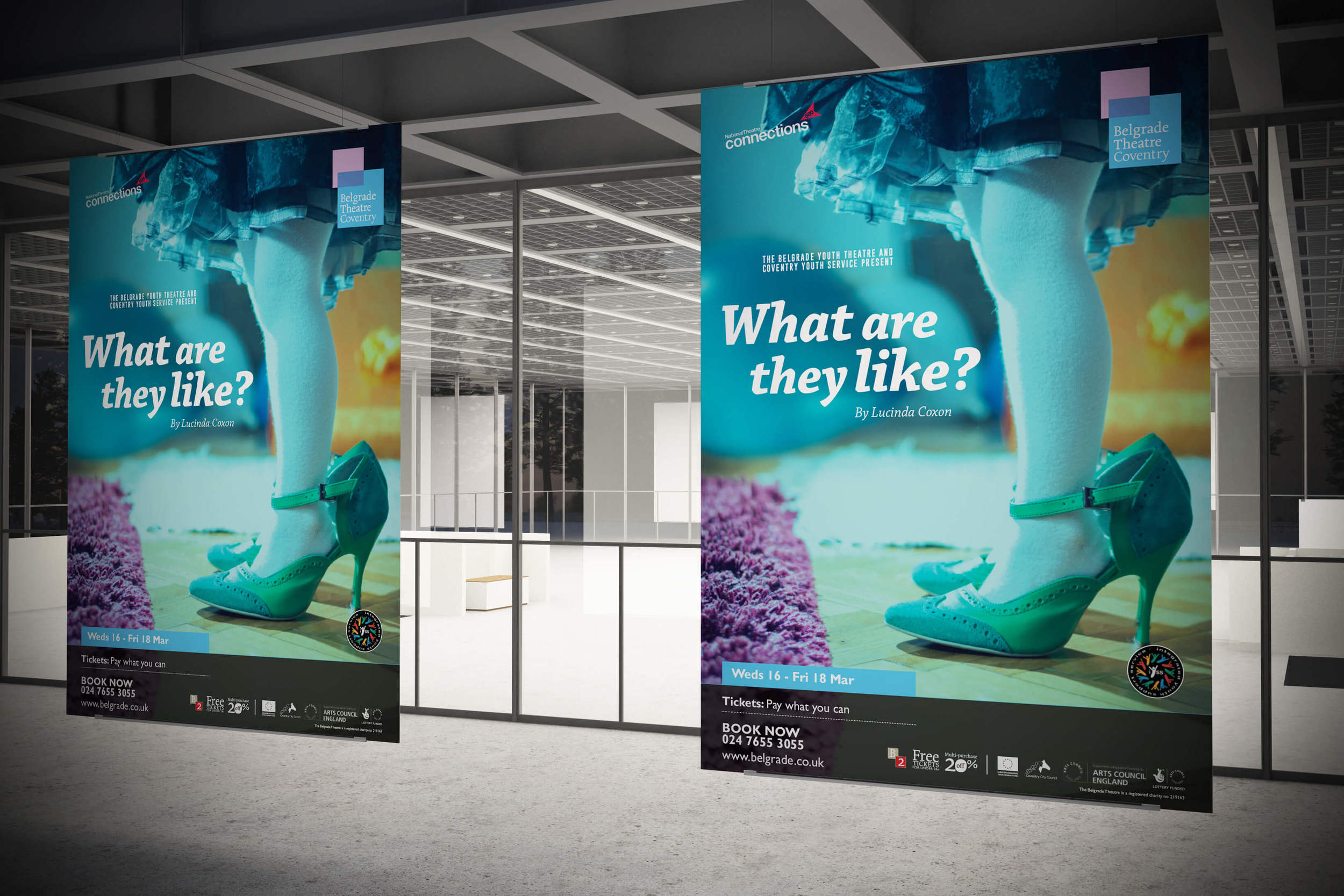 What Are They Like? show artwork from Coventry web design agency Create Onsight