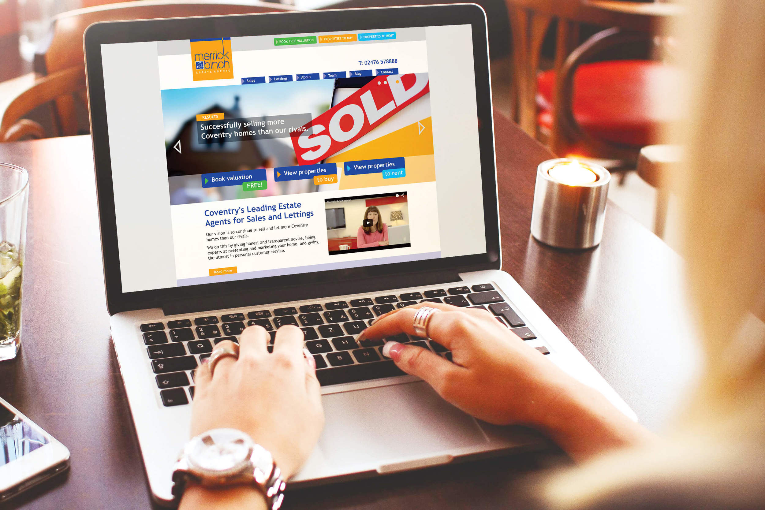 Linking to Rightmoved enabled quick and easy property uploads and searches.