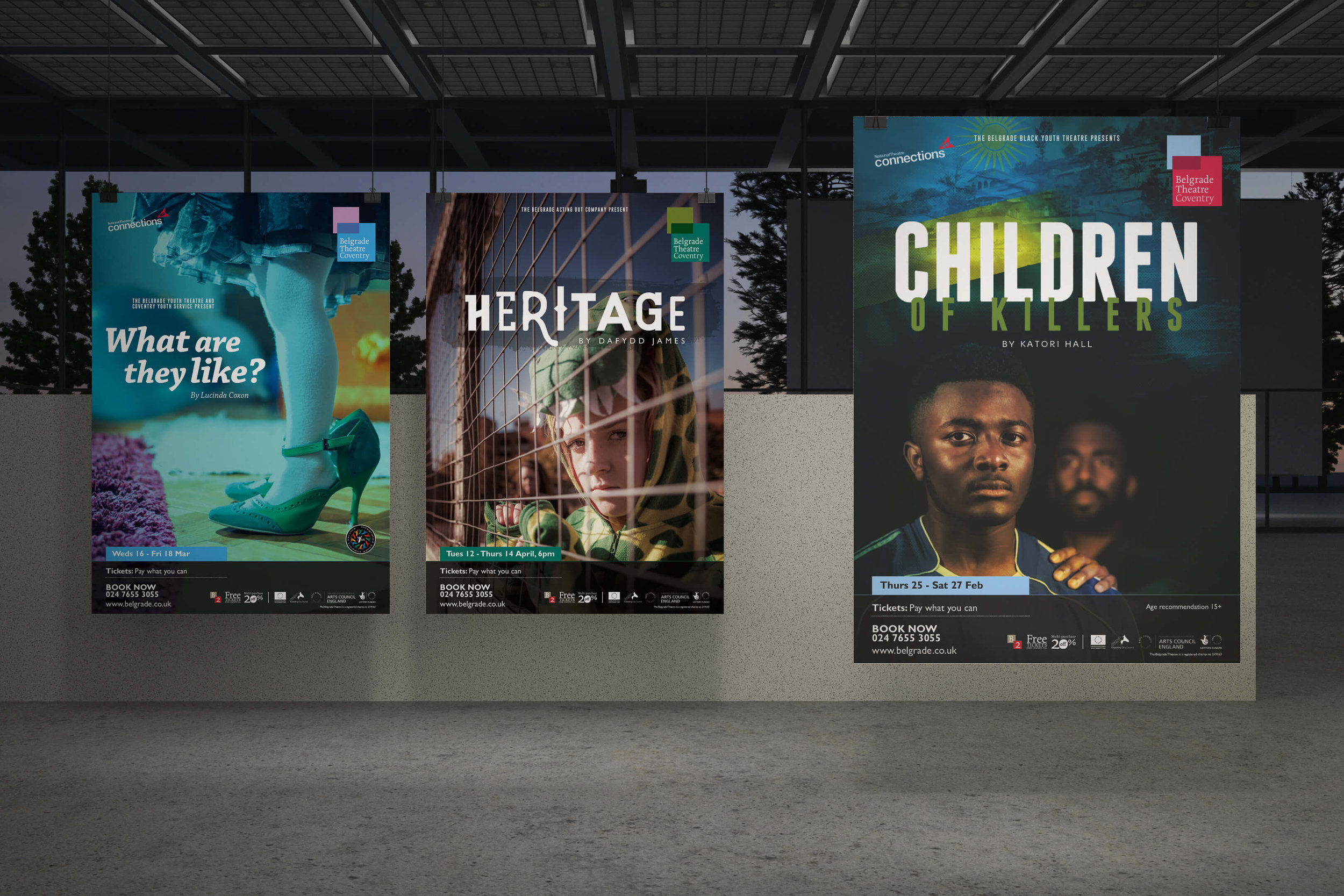 Heritage, Children of Killers and What Are They Like? artwork