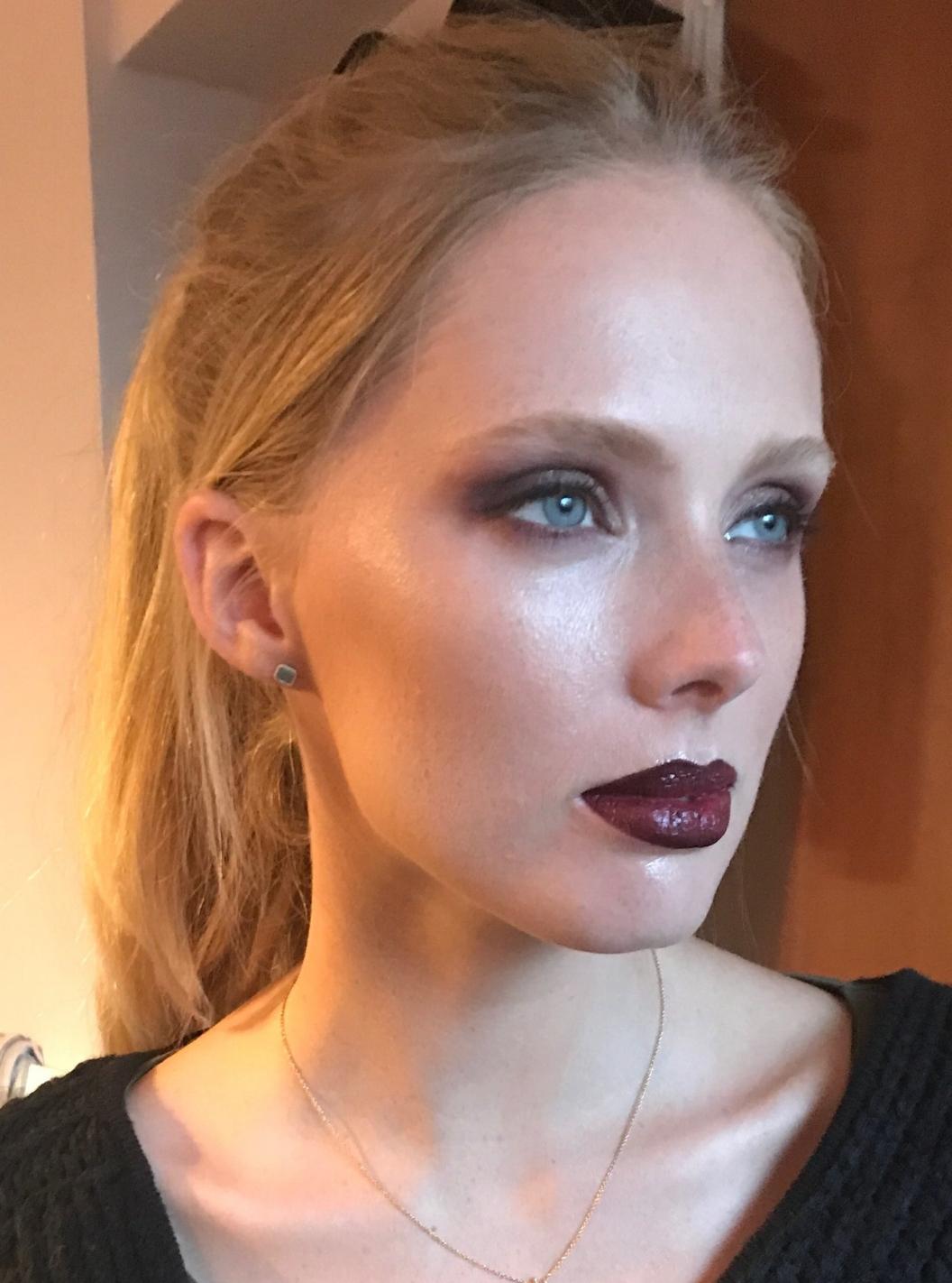 Lou's work on the stunning Jenny Guttridge