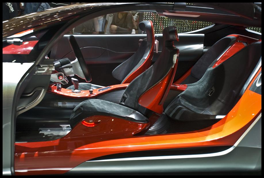 red concept interior