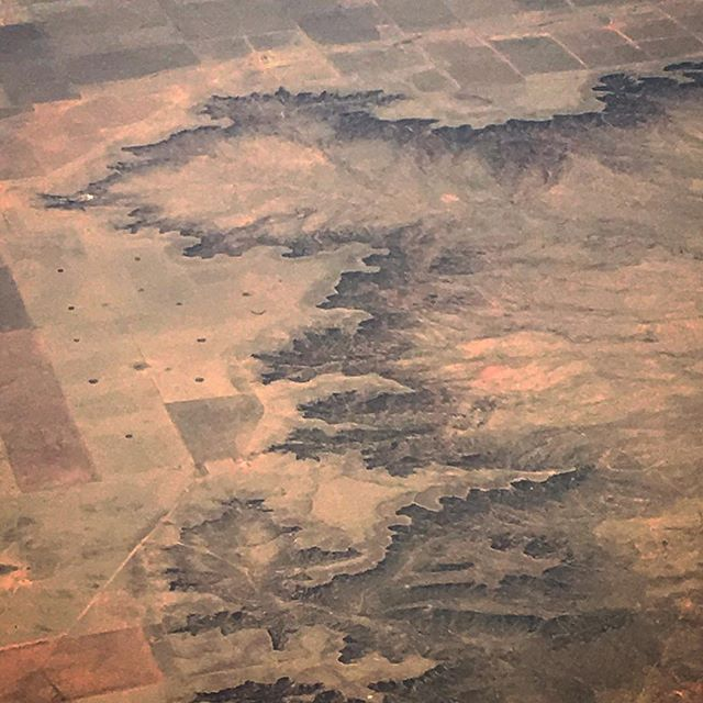 From above the map is the territory #fromtheplane #airplane_pics #territory #landscape #map #fromabove