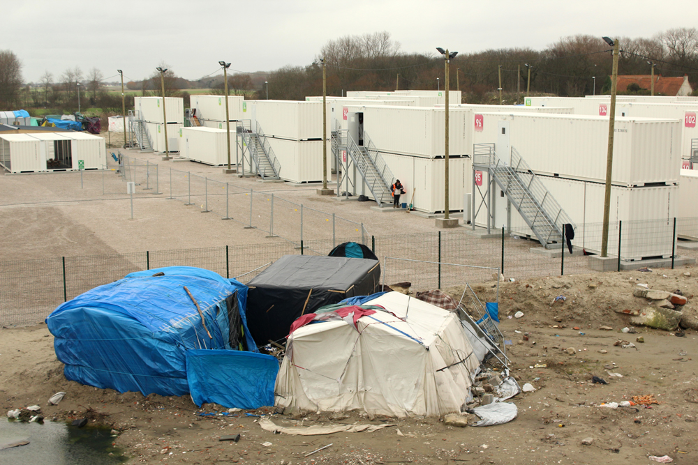 Calais Jungle - Photo by Leopold Lambert for The Funambulist