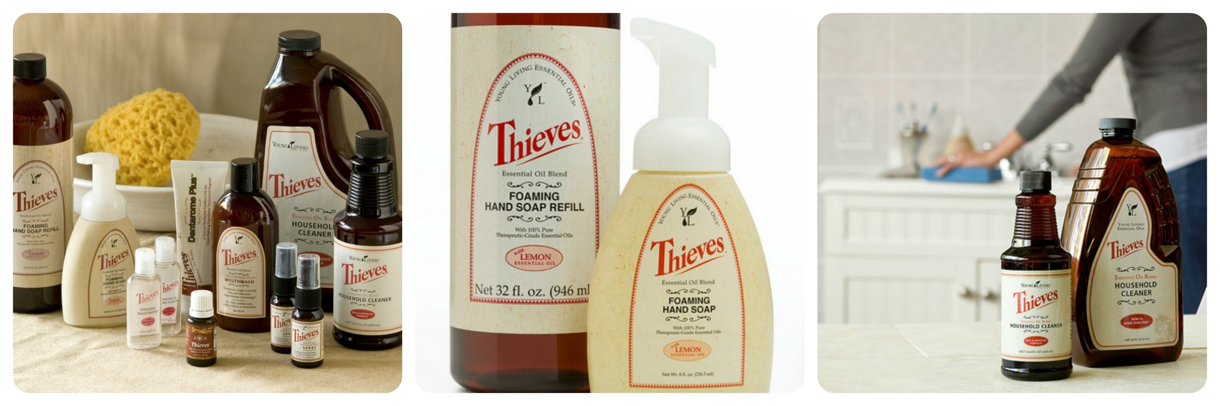 Thieves® Household Cleaner and Refill Thieves® Handsoap and Refill
