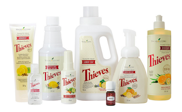 THIEVES® Serie : Toothpaste, Mouthwash, Household Cleaner, Handsoap, Laundry detergent, Dishsoap
