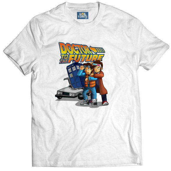 Doctor to the Future T-Shirt - £19.99 plus shipping -  click here