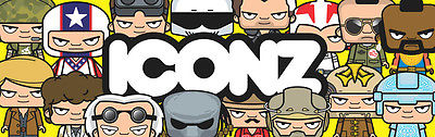 Iconz  T-shirts via their  EBAY Store  Featuring wide range of popular culture characters. At the BFCC there were selling stickers and mugs