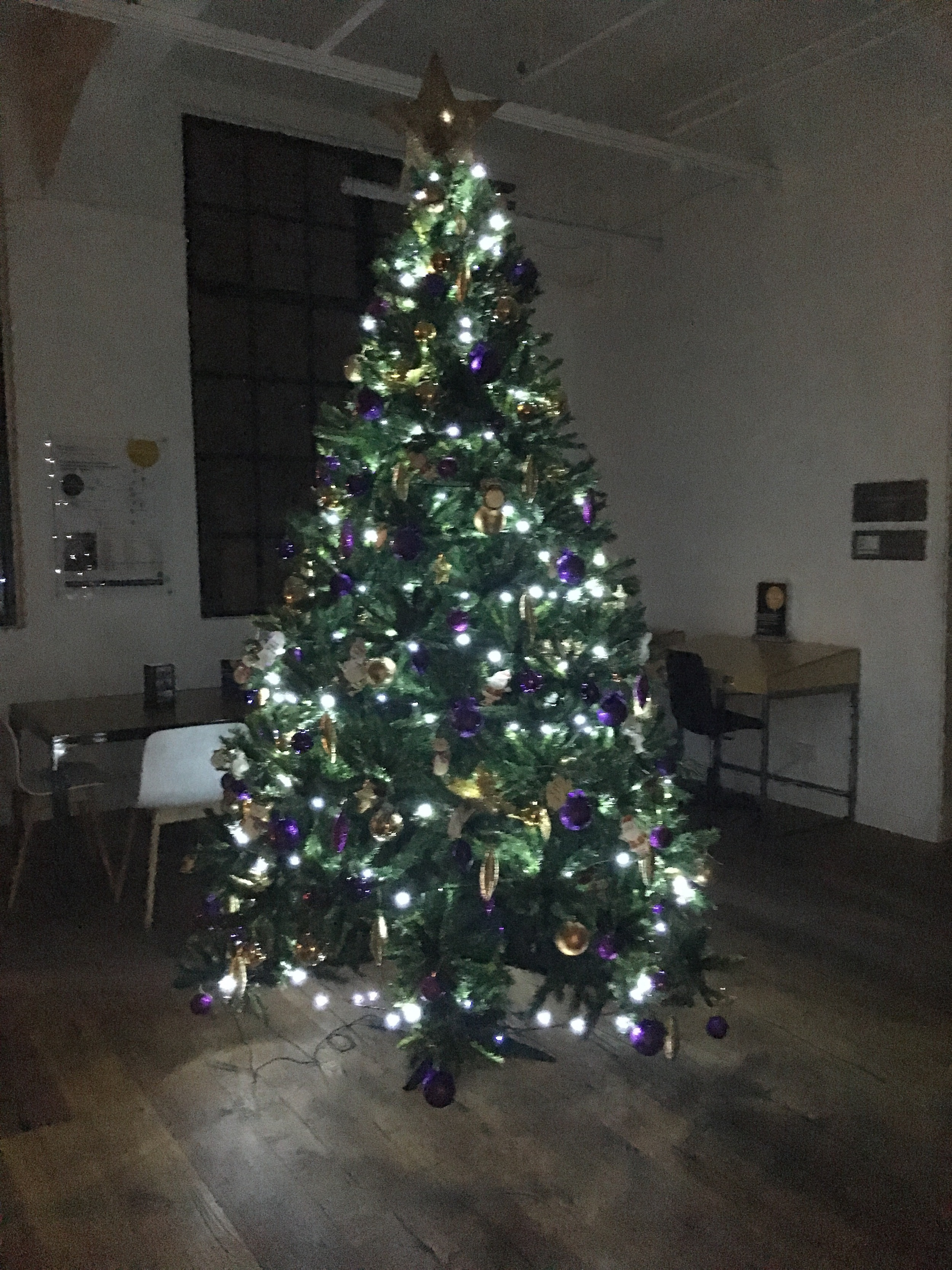 The Parkhall Business Centre's Tree of Hope for local children's centre
