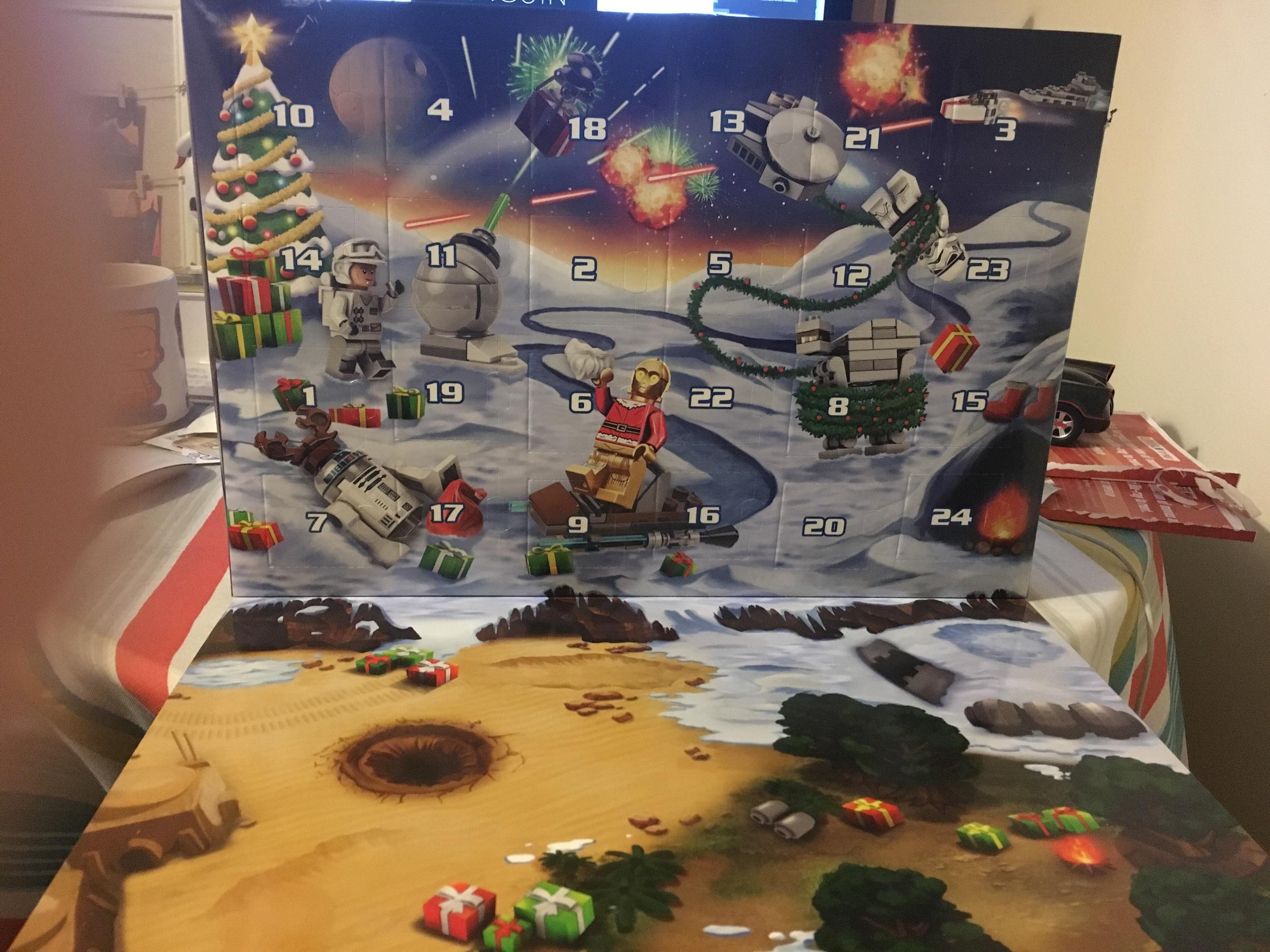 My Star Wars Lego Advent Calendar