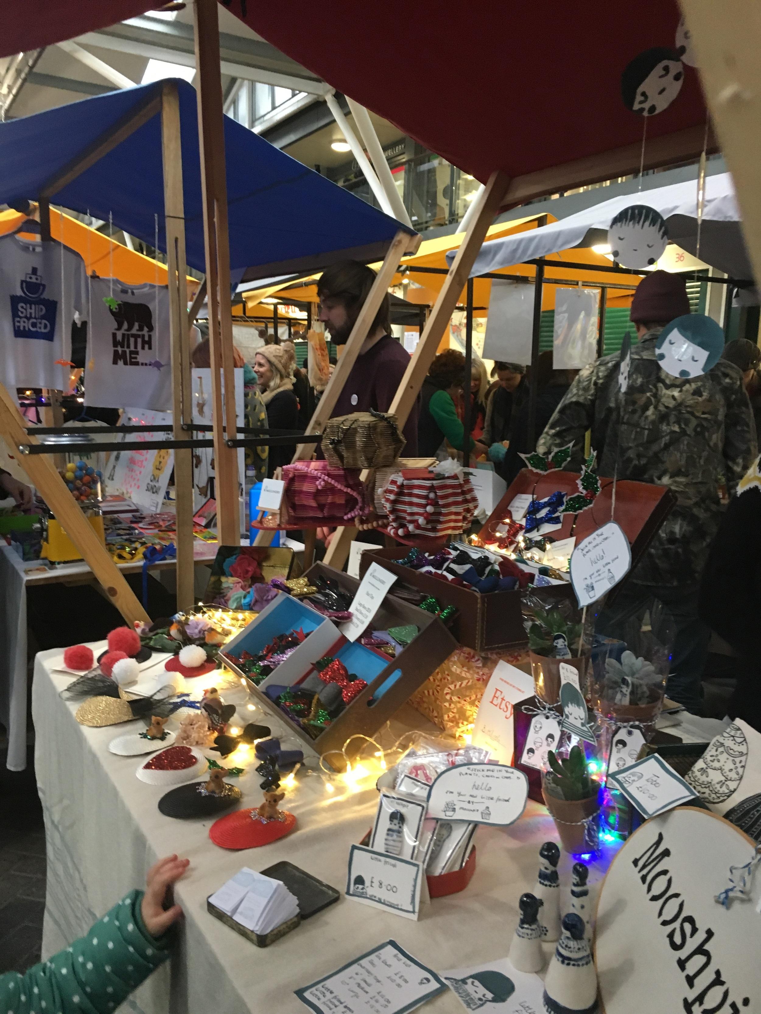 Brighton Etsy Christmas Fair at Brighton Open Market