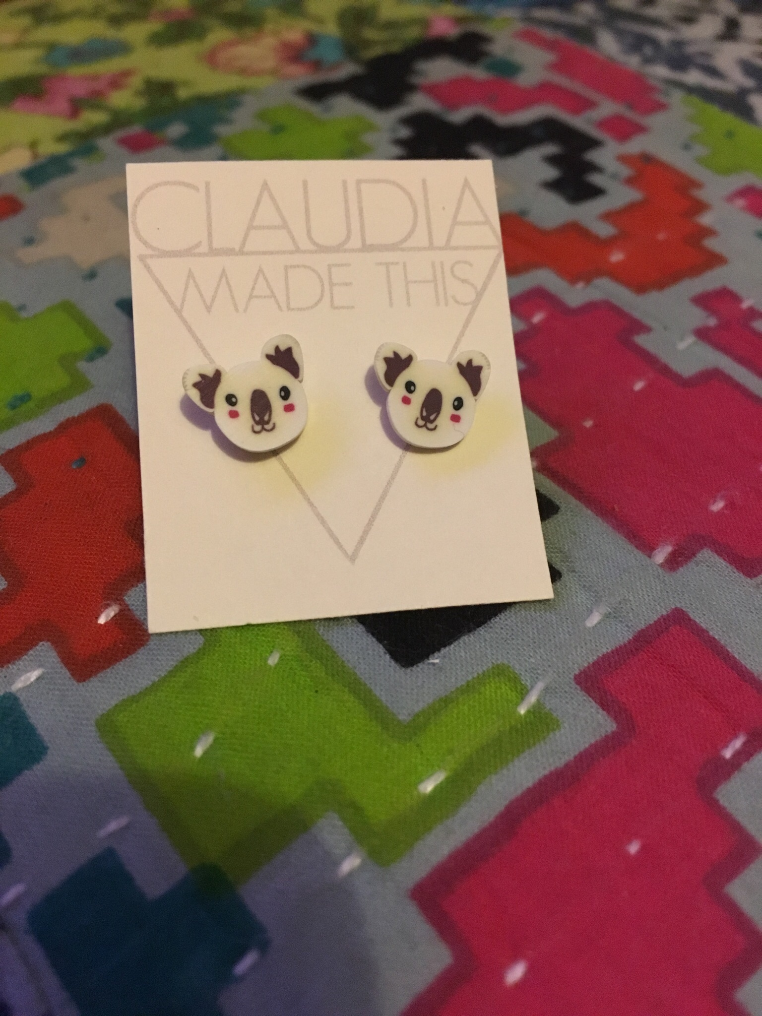 Day 13 & Koola earrings from Claudia Made This